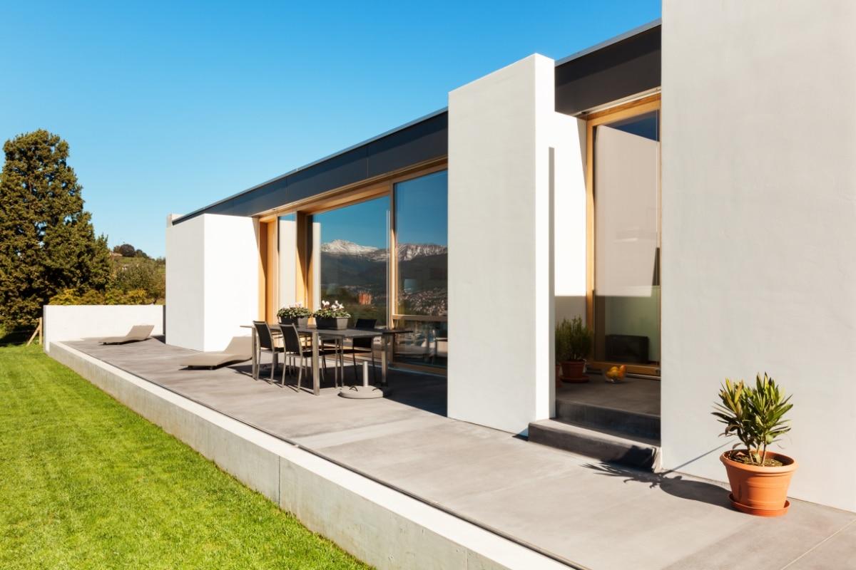 kozijnen vervangen in moderne woning